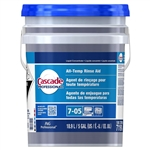 Cascade Professional All Temperature Rinse Aid Concentrate Closed Loop 7-05 - 5 Gal.