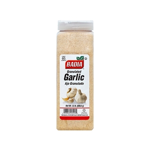 Badia Garlic Granulated - 1.5 lbs.