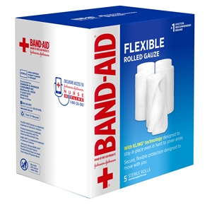 Band Aid Flex Gauze - 3 in. x 1.2 Yds.