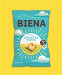 Biena Baked Chickpea Puffs Aged White Cheddar - 3.2 Oz.