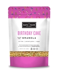 Safe plus Fair Granola Birthday Cake - 12 Oz.