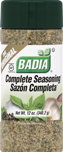 Badia Complete Seasoning - 12 oz.