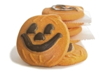 Cookies United Orange Pumpkin Face Cookies - 5 lb.