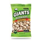 Giants Pistachios Original Roasted and Salted - 5 Oz.