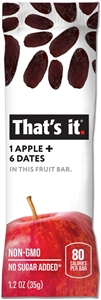 Apple Plus Dates Fruit Snack Bar - 1.2 oz.
