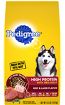 PEDIGREE® Dry Dog Food High Protein Beef and Lamb Flavor - 3.5 Lb.