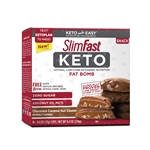 SlimFast Keto Fat Bomb Chocolate Caramel Nut Clusters - 0.59 oz.