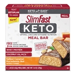 SlimFast Keto Meal Replacement Bar Salted Caramel Macadamia - 1.48 oz.