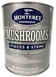 Superior Mushrooms Pieces and Stems - 100 Oz.