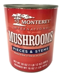 International Mushroom Pieces and Stems - 28 Oz.
