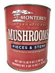 International Mushrooms Pieces and Stems - 100 oz.