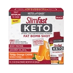 SlimFast Keto Fat Bomb Shot Orange Cream - 1 fl. Oz.