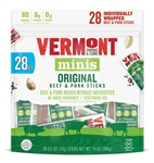 Vermont Smoke and Cure Original Beef and Pork Minis Meat Stick - 3 Oz.