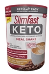 SlimFast Keto Meal Replacement Powder Coffee Canister - 13.3 Oz.