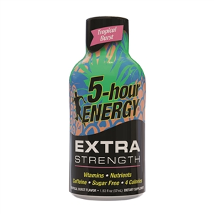 5-hour Energy Tropical Burst Extra Strength Drink - 1.93 Fl.oz.
