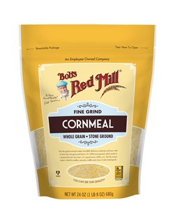 Bobs Red Mill Fine Grind Cornmeal - 24 Oz.
