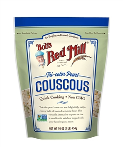Bobs Red Mill Tri-color Pearl Couscous - 16 Oz.