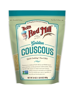 Bobs Red Mill Golden Couscous - 24 Oz.