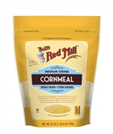 Bobs Red Mill Medium Grind Whole Grain Cornmeal - 24 oz.