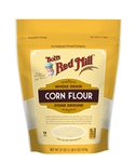 Bobs Red Mill Whole Grain Corn Flour - 22 Oz.