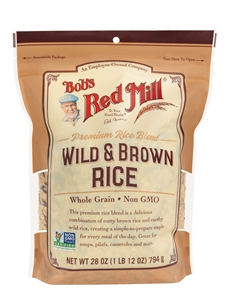 Bobs Red Mill Wild And Brown Rice Mix - 28 Oz.