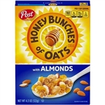 Post Honey Bunches Oats With Almonds - 4.3 Oz.