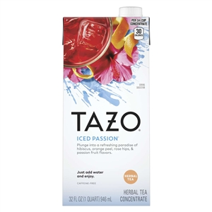 Tazo Iced Passion Tea Concentrated - 32 Fl.oz.