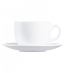Evolutions White Saucer - 5.5 in.