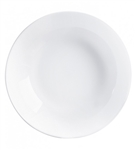 Evolutions White Rimless Soup Plate - 7.75 in.