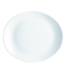 Evolutions White Steak Plate - 11.75 in. x 10 in.