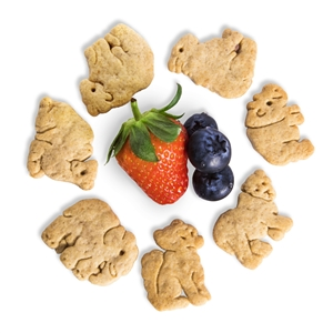 Appleways Mixed Berry Animal Crackers - 26 gm
