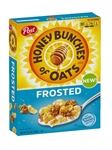 Post Honey Bunches Of Oats Frosted - 13.5 Oz.