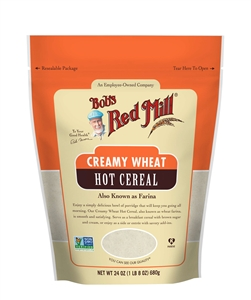 Bob's Red Mill Creamy Wheat Hot Cereal - 24 oz.