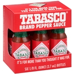 Tabasco Miniature Pepper Sauce - 0.125 Oz.