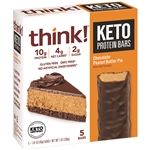 Keto Protein Chocolate Peanut Butter Pie - 7.05 Oz.