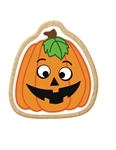 Pumpkin Decorated Printed Cookies - 2.5 Oz.