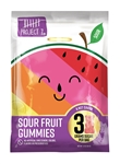 Low Sugar Sour Fruit Gummies - 1.8 Oz.