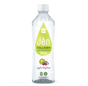 Aloe Vera Jen Apple and Lychee Water - 15.5 Oz.