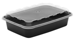 CuBEware Container With Lid Embossed - 12 Oz.