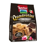 Loacker Quadratini Dark Chocolate - 8.82 Oz.