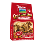 Loacker Quadratini Hazelnut - 4.41 Oz.