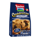 Loacker Quadratini Chocolate - 4.41 Oz.