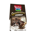 Loacker Quadratini Cocoa and Milk - 4.41 Oz.