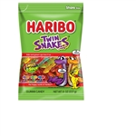 Haribo Confectionery Twin Snakes Peg Bag - 8 Oz.