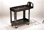 Heavy Duty Ergo Black Utility Cart