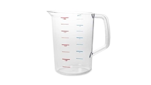Bouncer Measuring Cup Clear - 4 Qt.