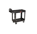 Heavy Duty Medium Black Utility Cart