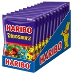 Haribo Confectionery Dinosaurs Gummi Candy Peg Bag - 8 oz.