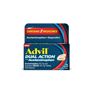 Advil Dual Action With Acetaminophen