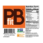 PBfit Peanut Butter Powder - 25 Pound